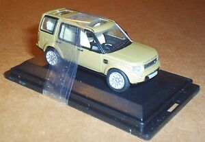 OXFORD DIECAST LAND ROVER DISCOVERY 4 LIGHT BROWN 1:76 SCALE MODEL CAR TOY