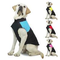 Hund Weste Haustier Kleidung Hundejacke Wasserdicht Wintermantel Regenmantel Neu