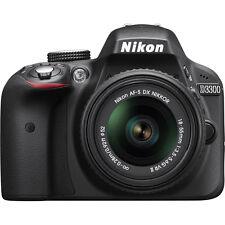 Nikon D3300 24.2 MP Digital SLR HD 1080p AF-S Zoom 18-55mm VR II Lens 1532 Black