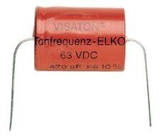 VISATON emetti-Elko rugosa 15 µF