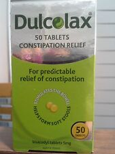 =>PRICE SMASH DULCOLAX 50 TABLETS, CONSTIPATION RELIEF , GENUINE.