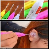 1PC Ear Cleaner Earwax Spoon Clean LED Light Flashlight Earpick