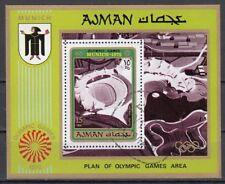 Ajman Block 234A gestempelt, Olympische Sommerspiele 1972 in München