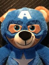 Build A Bear Factory Rare & Htf Avengers Captain America Bear