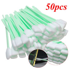 50Pcs/Set Foam Cleaning Swabs Swab Head Cleaner Camera Lenses Inkjet Printer