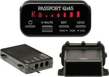Escort Passport Qi45e qi 45 Euro radar DETECTOR SPEED POLICE hidden installed