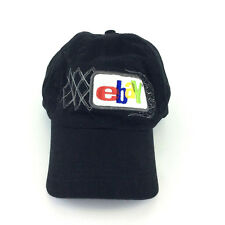 eBay Shop Original Logo Embroidered Patch Black Hat Cap Adjustable Vtg