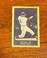 Vintage 1969 Nabisco Al Kaline Baseball Card Detroit Tigers Hall of Fame HOF