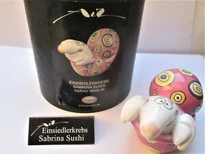 """Goebel Adam+Ziege Einsiedlerkrebs """"Sabrina Sushi"""" Salz oder Pfefferstreuer"""