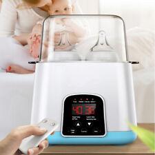 5-IN-1 Baby Bottle Warmer Steam Sterilizer Food Breastmilk Heater Blue