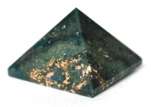 Reiki Energy Bloodstone Crystal Gemstone Pyramid Natural Healing Gift Wrapped