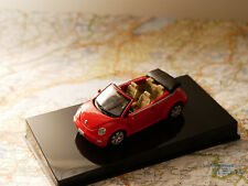 Autoart VW NEW BEETLE RED CABRIO 1:43 NEW