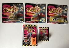 Acorn Merchandising 1992 James Bond Jr Movie Viewer Film Cartridge Unopened.