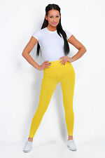 Cotton Leggings Various Lengths Full Length, Cropped 3/4 Casual Fitness Pants