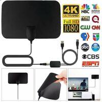 Clear Indoor Digital TV HDTV Antenna UHF//VHF//1080p 4K 2019 Latest 350 Miles