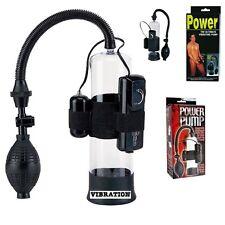 Vakuum Pumpe Potenzpumpe Penispumpe 8te PowerPumpBuster mit Powerpack