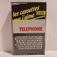 Téléphone - Les Cassettes Que J'Aime (Cassette Audio - K7 - Tape)