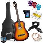 OPEN BOX - 38-inch Beginner Acoustic Guitar Package - Sunburst