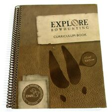 MI DNR Explore Bow Hunting Curriculum Book & (4) CDs Kids Tracking Archery