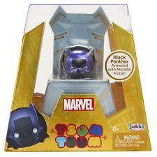 Marvel Tsum Tsum Black Panther Armored with Metallic Finish from jakks