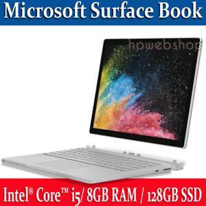 Microsoft Surface Book Intel i5 8GB RAM /128GB SSD with Keyboard  Win10 A+++++