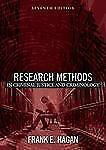 Research Methods in Criminal Justice and Criminology by Frank E. Hagan (2005,...