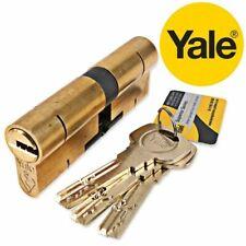 YALE Superior Euro Cylinder Door Lock Anti Snap Bump High Security uPVC X5 KEYS