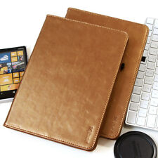 """Cubierta para Samsung Galaxy Tab S2 9,7"""""""" Cuero Funda Protectora Smart Case Oro"""