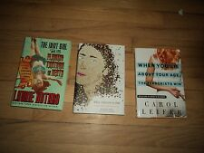 3 Humorous Autobiographies Laurie Notaro AND Jennifer Traig AND Carol Leifer
