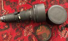 Ex+ Nikon Nikkor 400mm F/3.5 AI-S ED  + 122mm Filter  A+ Grade