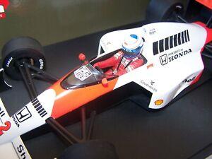 1/18 Minichamps 1989 Alain Prost McLaren Honda MP4/5 WORLD CHAMPION F1 Formula