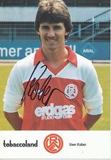 Uwe Kober   Rot Weiß Essen  Autogrammkarte signiert  EC  283738