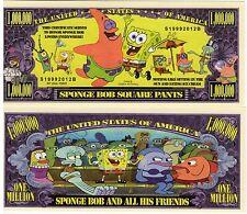 Sponge Bob Square Pants Million Dollar Novelty Money