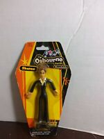 "The Osbourne Family Ozzy 6""  bendable figure New on coffin shaped card Kelly"