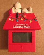 Hallmark Snoopy Countdown To Christmas Digital Ornament 2011