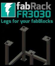 """CertiFlat FR3030 30""""X30"""" FabRack CNC Laser Tube Leg Kit for FabBlocks Heavy-Duty"""