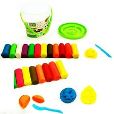 15Pcs Play Dough Doh Clay Modeling Cutter Tool Set  Craft Children Kids Toys .