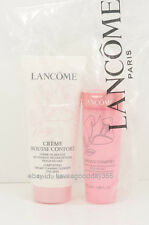 Lancome Creme Mousse Confort Facial Cleanser + Tonique Toner Dry Skin Set Seal