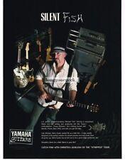 "2003 YAMAHA Silent Guitar MICHAEL ""FISH"" HERRING Vtg Print Ad"