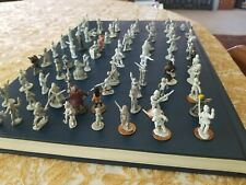 180 Vintage Figurines Toy Soldiers Various Brands + Horses & Other Animals