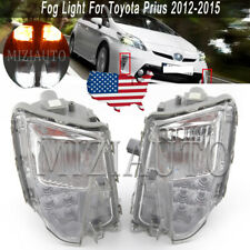 LED Fog Light For Toyota Prius 2012 2013 14 2015 Front Bumper Lamp Assembly Pair