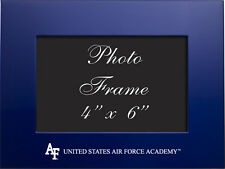 United States Air Force Academy - 4x6 Brushed Metal Picture Frame - Blue