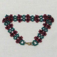 Open Poppy 2 Strand Charity Bracelet