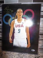 """Breanna Stewart USA Seattle Storm 11x14"""" Photo Wnba Autograph BAS BGS Beckett"""