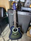 Ovation 386T Pinnacle Electric Acoustic Guitar circa 1990's Made in Japan MINT for sale