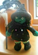HALLOWEEN HAND KNITTED WICKED WITCH CALLED SABRINA.