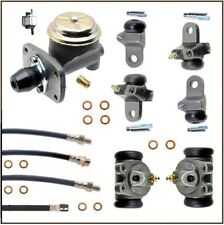 12-piece Brake Hydraulics Set for 1955 Plymouth - Dodge w/out Power Brakes