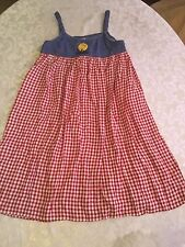 My Michelle dress Size 8 patriotic USA sundress red blue girls