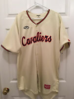 Virginia UVA Cavaliers Baseball Matt Thaiss Game Worn Jersey Los Angeles Angels