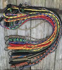 'Snake Knot' Paracord Neck Lanyard for ID Card, Tools, Keys, etc. 125 Colours!